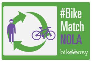 Support #BikeMatch NOLA