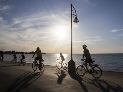 New Orleans starts construction on new stretches of bike lanes