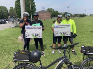 Celebrating low-stress biking in Algiers with Kristin Palmer & the Complete Streets Coalition