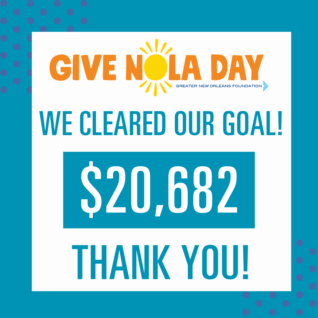 #GiveNola Day total amount