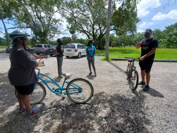 Bike Easy's Adult Learn to Ride Class Gets Rollin